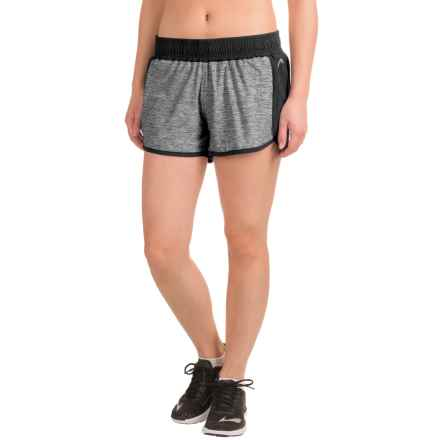 Head Inside Track Shorts - Built-In Briefs, Slim Fit (For Women) in Black - Closeouts