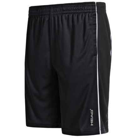 Head Jackpot Active Shorts (For Big Boys) in Black - Closeouts