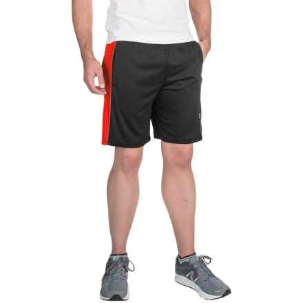 Head Jackpot Knit Shorts (For Men) in Black/Tomato Heather - Closeouts