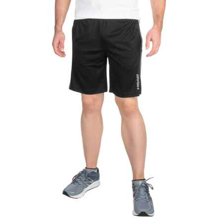 Head Jackpot Knit Shorts (For Men) in Black - Closeouts