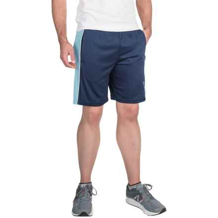 Head Jackpot Knit Shorts (For Men) in Navy/Dream Blue Heather - Closeouts
