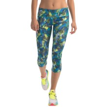 Head Kalo Print Capris (For Women) in Catalina Blue - Closeouts