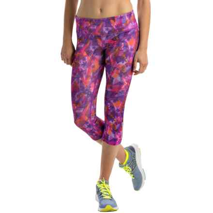 Head Kalo Print Capris (For Women) in Rose Violet - Closeouts