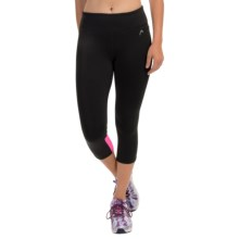Head Long Jump Capris (For Women) in Black/Knockout Pink - Closeouts