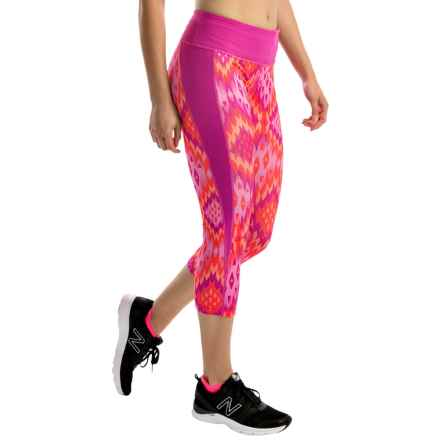 Head Mash-Up Capris (For Women) in Rose Violet - Closeouts