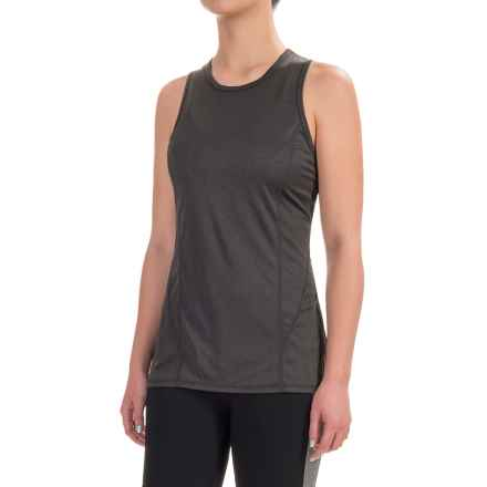 Head Mesh-Back Tank Top - Racerback (For Women) in Charcoal Heather - Closeouts