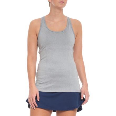 c1f045b465d23 Head Mesh Tank Top - Built-In Sports Bra (For Women) in Grey