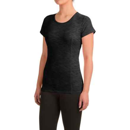 Head Mira Keyhole Shirt - Slim Fit, Short Sleeve (For Women) in Black - Closeouts