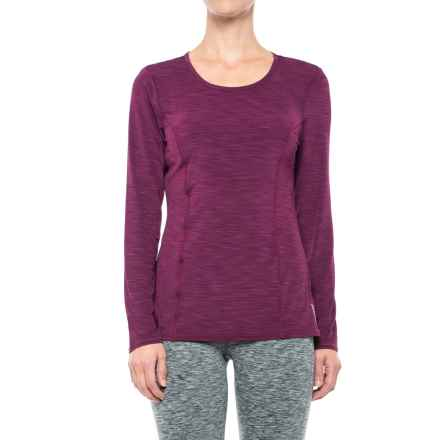 Head Mira Shirt - Slim Fit, Long Sleeve (For Women) in Dark Purple - Closeouts