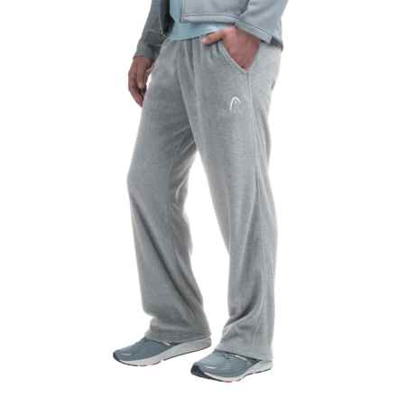 Head Mogul Polar Fleece Joggers (For Men) in Grey Heather - Closeouts