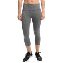 Head Namaste Crop Capris (For Women) in Charcoal Heather - Closeouts