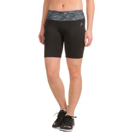 Head Neko Shorts - Compression Fit (For Women) in Black - Closeouts