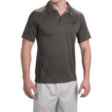 Head Net High-Performance Polo Shirt - Short Sleeve (For Men) in Asphalt - Closeouts