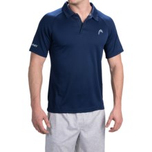 Head Net High-Performance Polo Shirt - Short Sleeve (For Men) in Medieval Blue - Closeouts