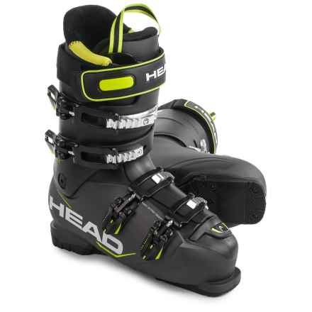 Head Next Edge 85 Ski Boots in Anthracite/Black/Yellow - Closeouts