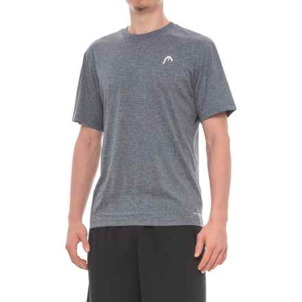 Head Olympus Hypertek® T-Shirt - Short Sleeve (For Men) in Cool Grey Heather - Closeouts