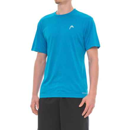 Head Olympus Hypertek® T-Shirt - Short Sleeve (For Men) in Okc Blue Heather - Closeouts