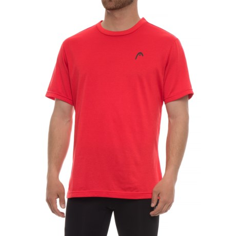 Head Olympus Hypertek® T-Shirt - Short Sleeve (For Men) in Primal Red Heather