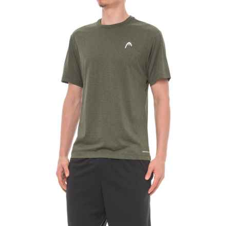 Head Olympus Hypertek® T-Shirt - Short Sleeve (For Men) in Rifle Green Heather - Closeouts