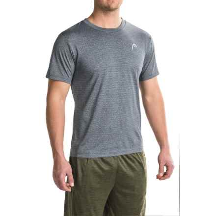 Head Olympus T-Shirt - Short Sleeve (For Men) in Cool Grey Heather - Closeouts