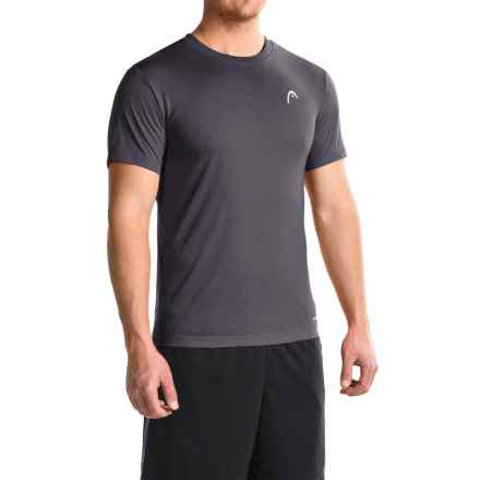 Head Olympus T-Shirt - Short Sleeve (For Men) in Navy Heather - Closeouts
