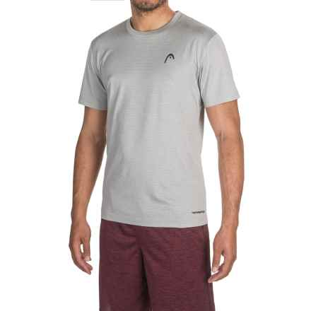 Head Olympus T-Shirt - Short Sleeve (For Men) in Sleet Heather - Closeouts