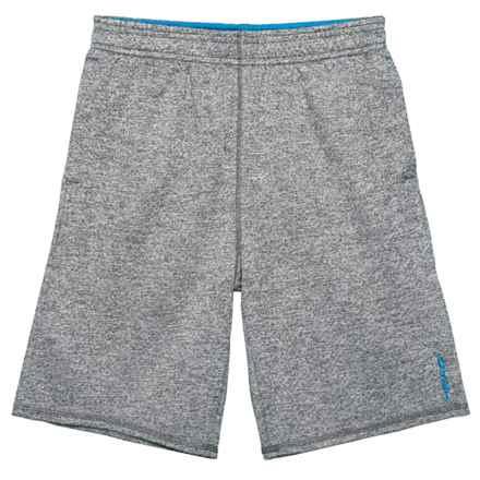 Head Oscar Athletic Shorts (For Big Boys) in Ebony Heather - Closeouts
