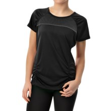 Head PB Mesh Shirt - Short Sleeve (For Women) in Black - Closeouts