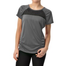 Head PB Mesh Shirt - Short Sleeve (For Women) in Castlerock - Closeouts