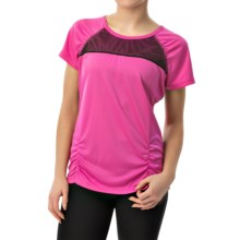 Head PB Mesh Shirt - Short Sleeve (For Women) in Rose Violet - Closeouts