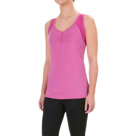 Head Perforated Tank Top (For Women) in Rose Violet Heather - Closeouts
