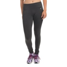 Head Power Glow Color-Block Leggings (For Women) in Charcoal Heather - Closeouts
