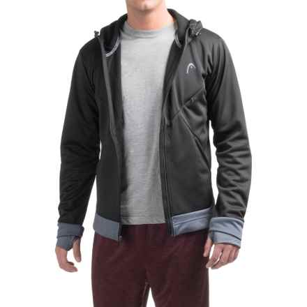 Head Power Hood Fleece Jacket (For Men) in Black - Closeouts