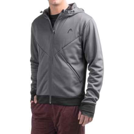 Head Power Hood Fleece Jacket (For Men) in Nine Iron - Closeouts