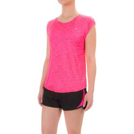 Head Power Shirt - Scoop Neck, Short Sleeve (For Women) in Knockout Pink - Closeouts