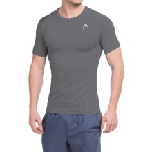 Head Powerhouse T-Shirt - Short Sleeve (For Men) in Asphalt Heather - Closeouts