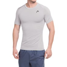 Head Powerhouse T-Shirt - Short Sleeve (For Men) in Microchip Heather - Closeouts