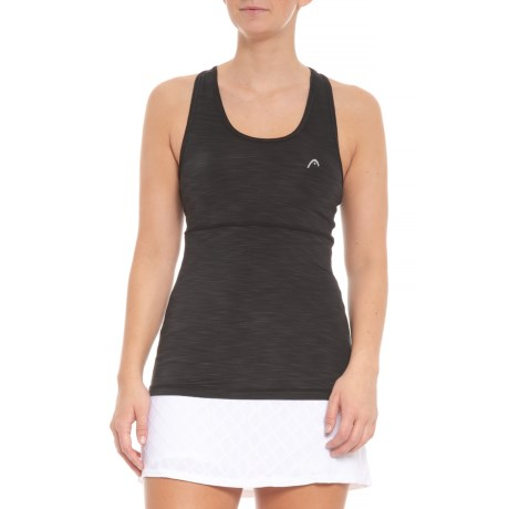 f86442f84b7 Head Racerback Tank Top - Built-In Sports Bra (For Women) in Black