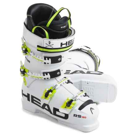 Head Raptor 120 RS Ski Boots in White - Closeouts