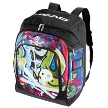 Head Rebels Racing Backpack in Graphic/Black - Closeouts