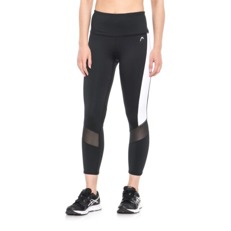 Head Recovery Crop Capris (For Women) in Black