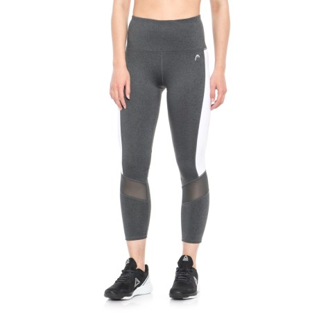 Head Recovery Crop Capris (For Women) in Charcoal Heather