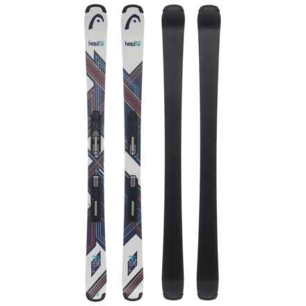 Head Residue SLR 2 Skis with SLR 7.5 AC Ski Bindings (For Little and Big Kids) in See Photo - Closeouts