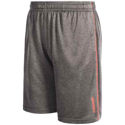 Head Return to Order Shorts (For Big Boys) in Asphalt Heather - Closeouts