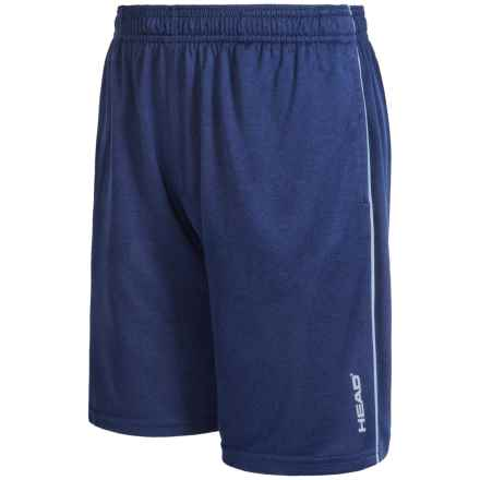 Head Return to Order Shorts (For Big Boys) in Medieval Blue Heather - Closeouts
