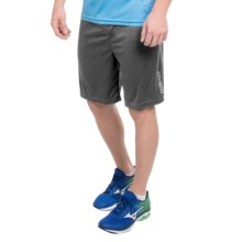 Head Return to Order Shorts - Slim Fit (For Men) in Black Heather - Closeouts