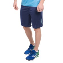 Head Return to Order Shorts - Slim Fit (For Men) in Medieval Blue Heather - Closeouts