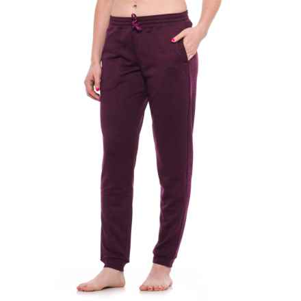 Head Roll On Joggers (For Women) in Dark Purple Heather - Closeouts
