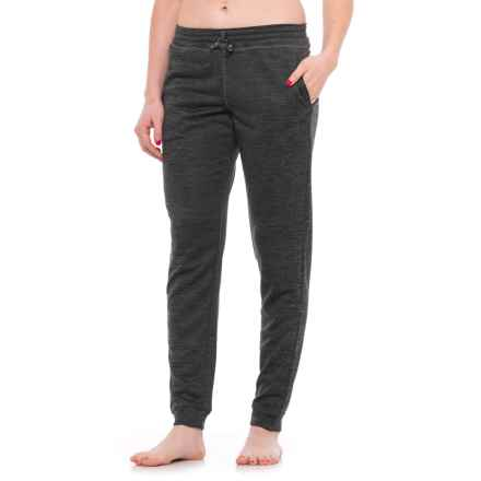 Head Roll On Joggers (For Women) in Medium Grey Heather - Closeouts