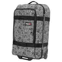 Head Rolling Suitcase - Small in Black - Closeouts